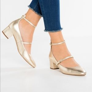 NEW • Sam Edelman • Lulie Metallic Classic Heels 8